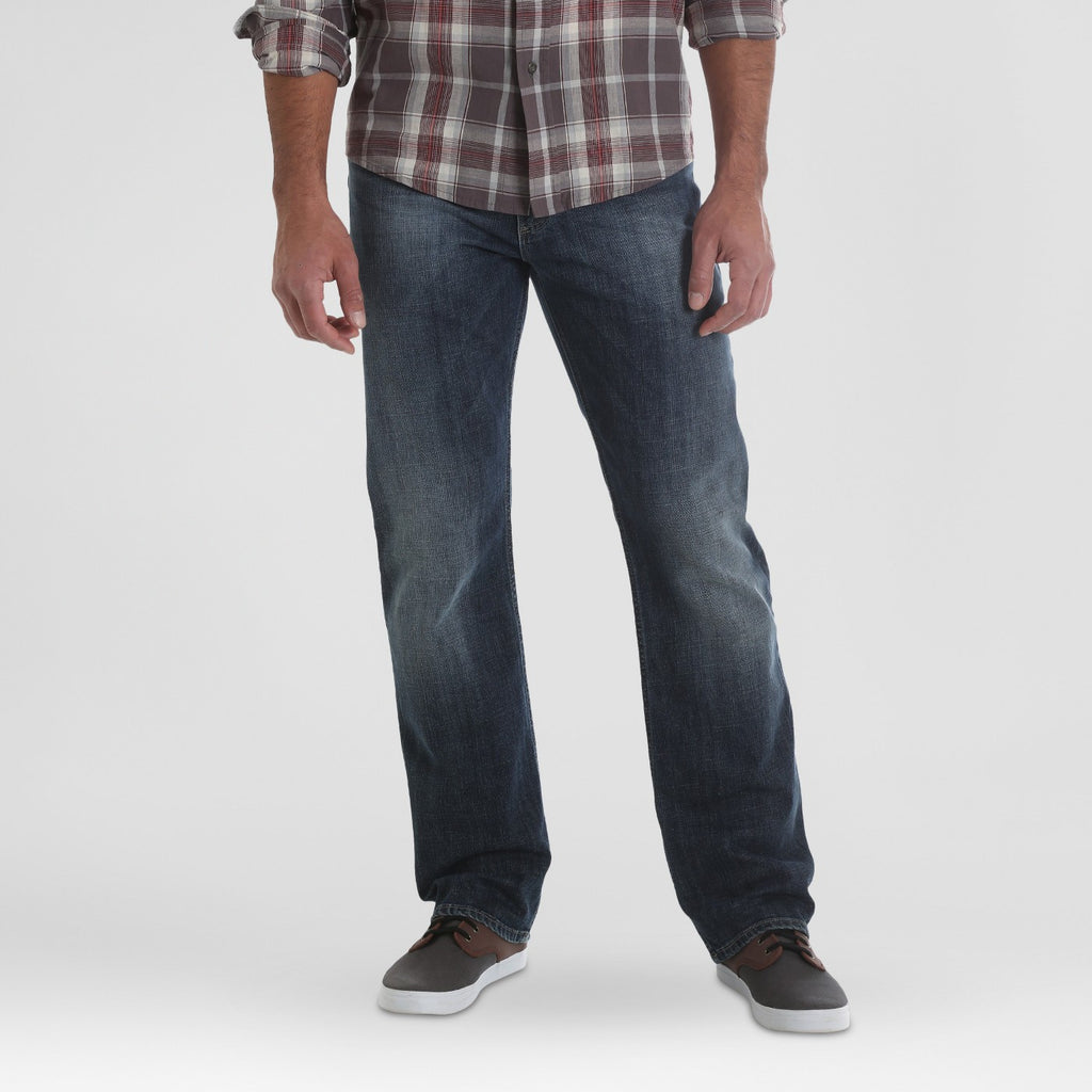 Wrangler Men's Straight Fit Jeans with Flex