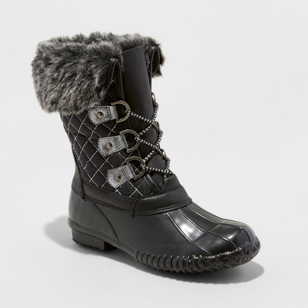 Girls' Stevies Winter Boots - Black 3