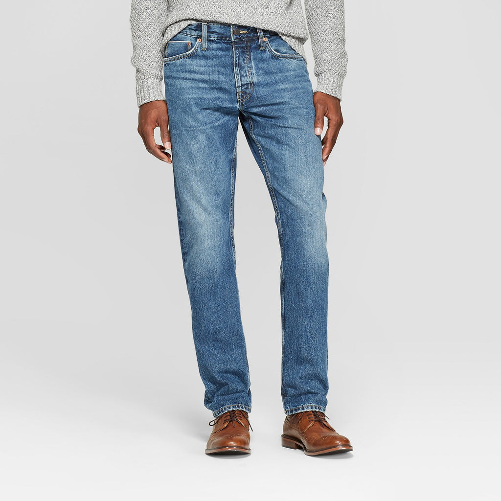 Men's Slim Straight Fit Selvedge Denim - Goodfello
