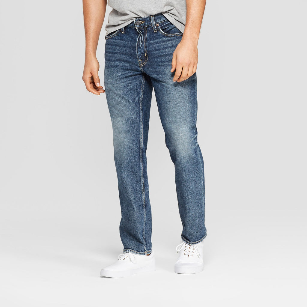 Men's Straight Fit Jeans - Goodfellow & Co M