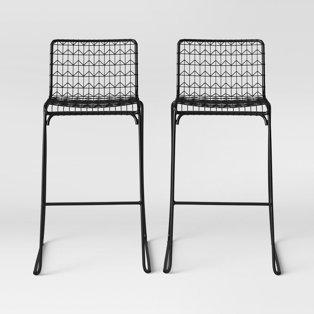 Oster Wire Barstool Black - Project1