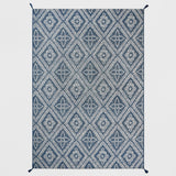 7' x 10' Dot Diamond Outdoor Rug Blue - Threshold™