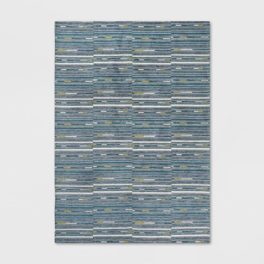 5' x 7' Yew Stripe Outdoor Rug Cool - Project 62™