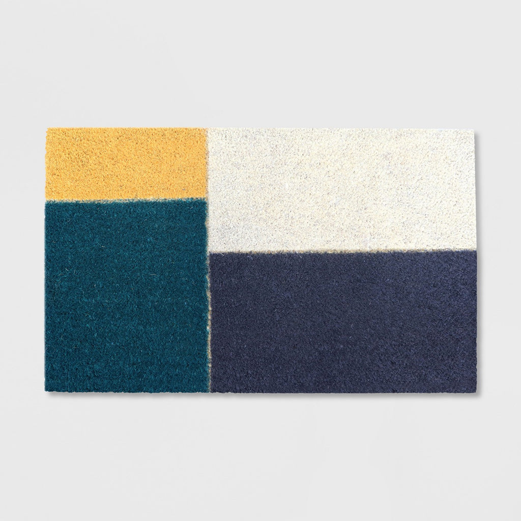 "18"" x 30"" Color Block Outdoor Doormat Cool - Project 62™"