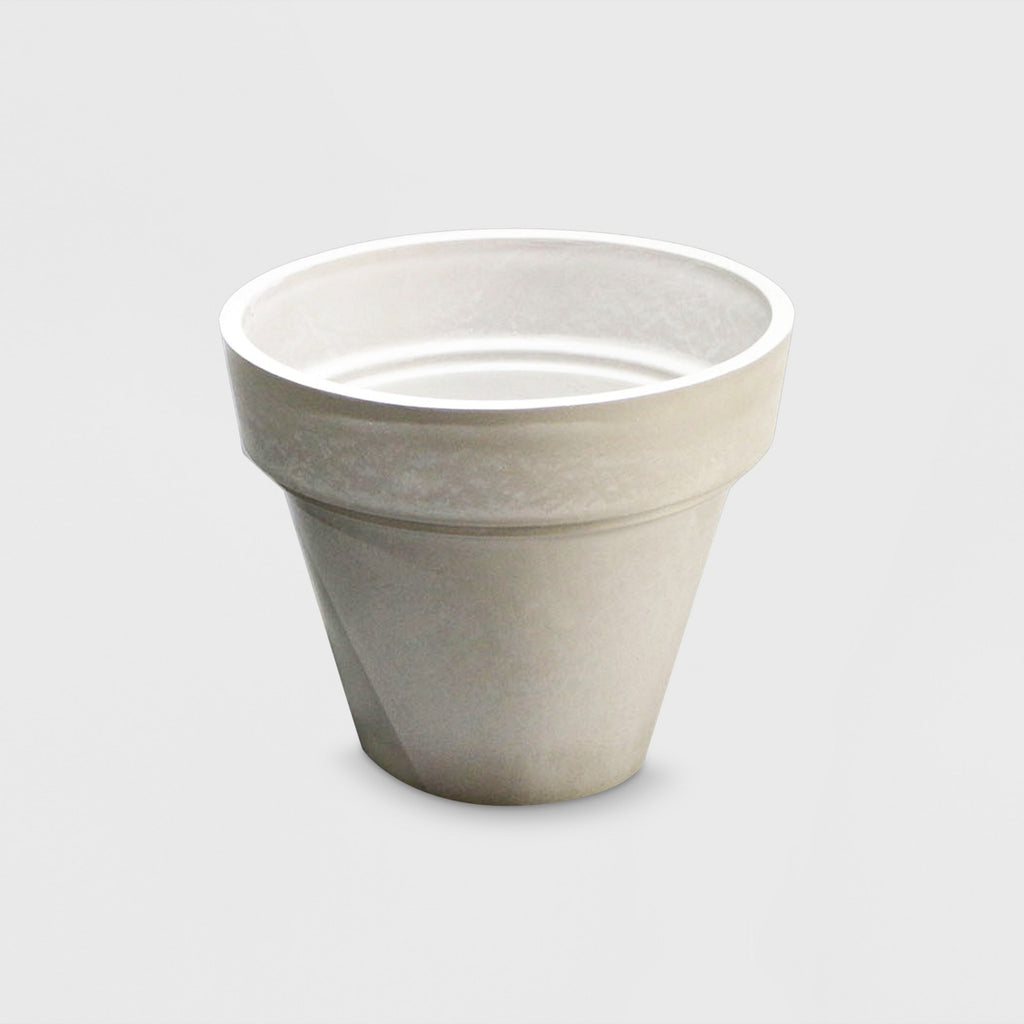 "18"" Recycled Double Lip Planter Gray - Smith & Hawken™"
