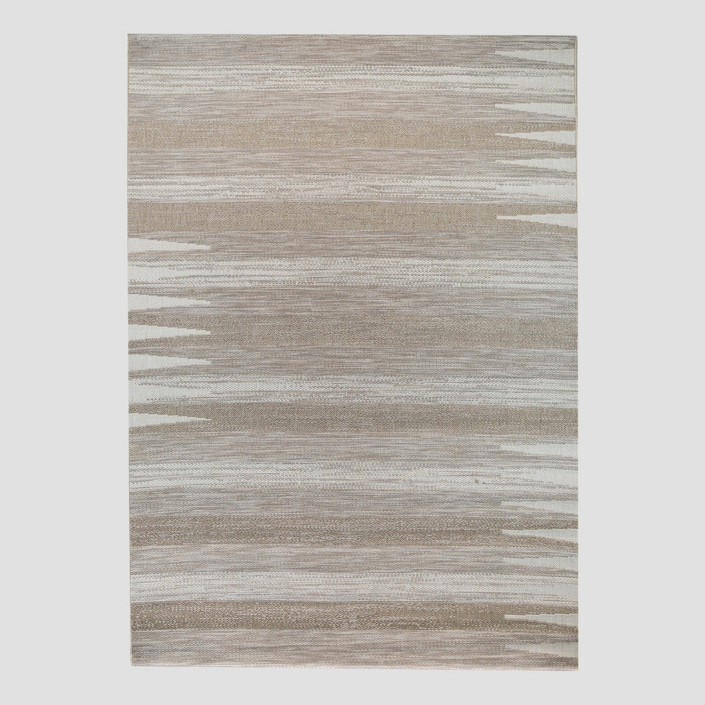 7' x 10' Left Right Left Outdoor Rug Beige - Project 62™