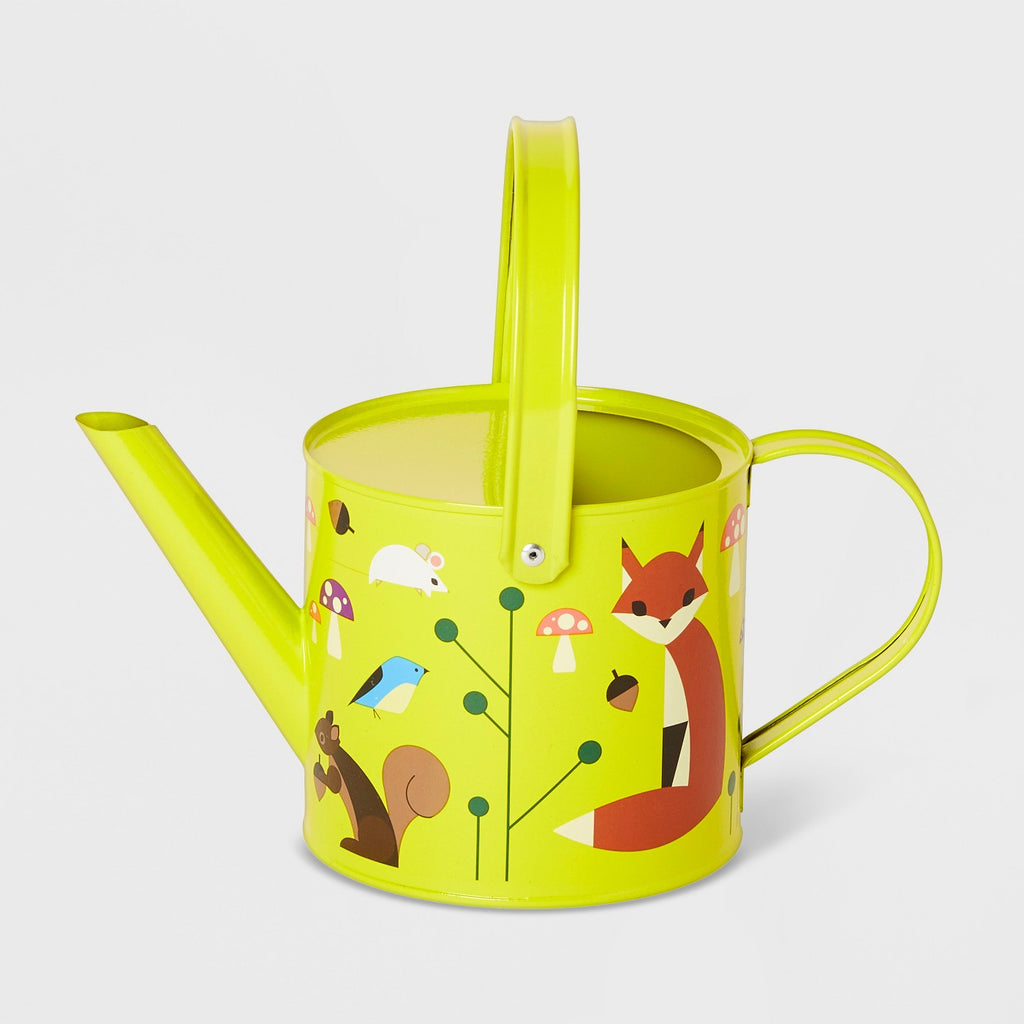 Forest Friends Watering Can Light Green - Kid Made Modern