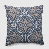 Square June Mosaic Outdoor Pillow Blue - Threshold