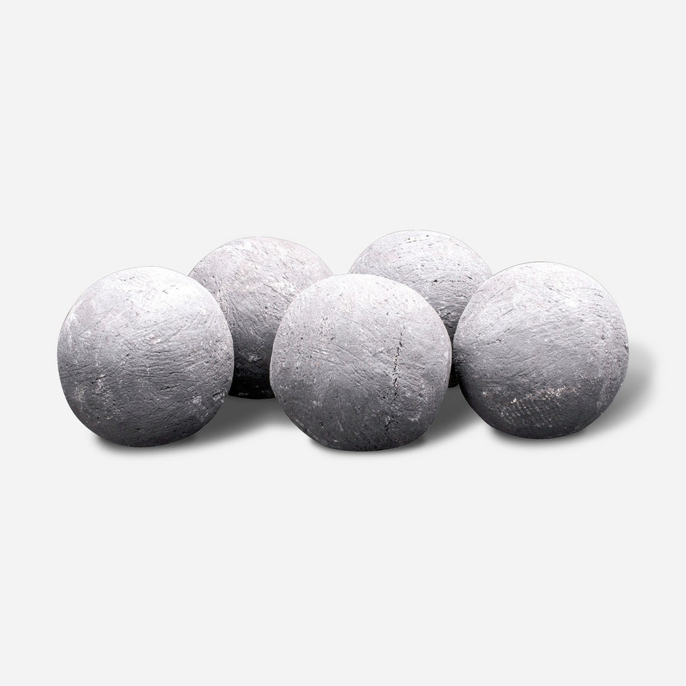 Perma Coal Sphere Fire Pit Fillers - Gray - Bond