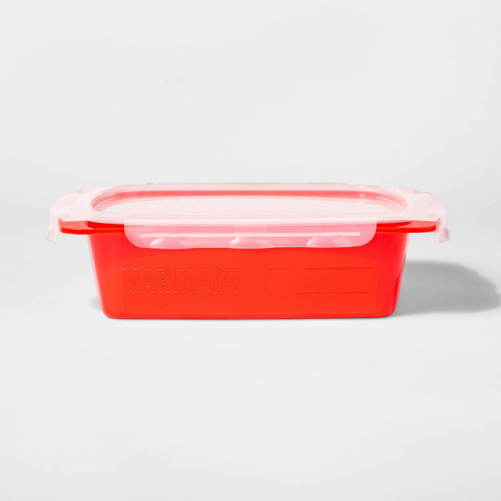 Small Grill Marinade Tray Red - Sun Squad™