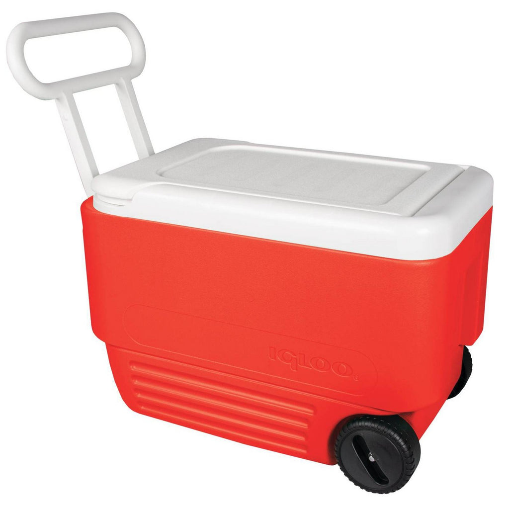 Igloo Wheelie Cool 38qt Cooler - Red