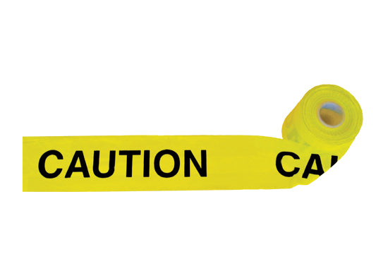 PCV Warning Tape Caution Printed Extra Large