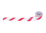 PCV Warning Tape Red/White