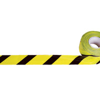 PCV Warning Tape Black/Yellow