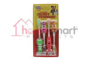Health Smart Toothbrushes Kid 4 Pcs