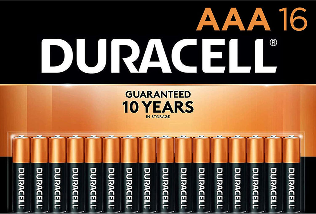 Duracell Coppertop AAA Alkaline Batteries, 16 ct
