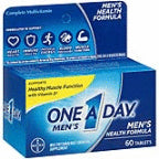One A Day Men's Health Formula Multivitamin/Multimineral Supplement, 60 ct