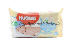 Huggies Baby Wipes Pure 56Pcs