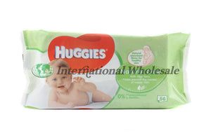Huggies Baby Wipes Natural 56Pcs