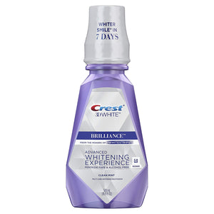 Crest 3D White Brilliance Alcohol Free Whitening Mouthwash