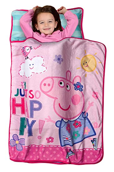 Peppa Pig Nap Mat Pink (Toddler)