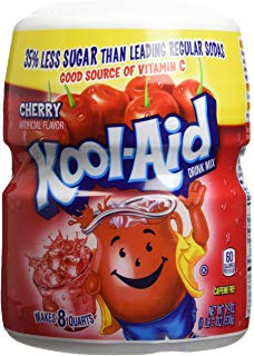 Kool Aid 8Qrt Cherry 19 Oz (562 mL) DLC: 25/APR/20