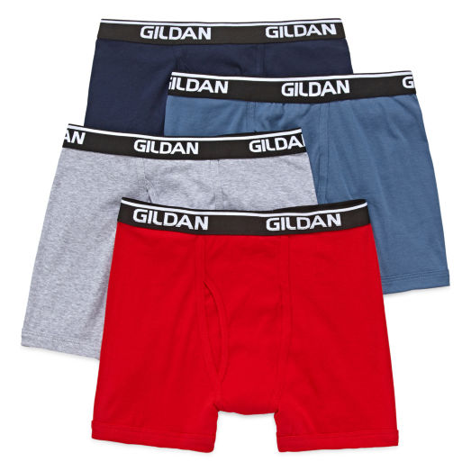 Gildan Boxer Brief Premium Cotton Comfort 4 pk - L