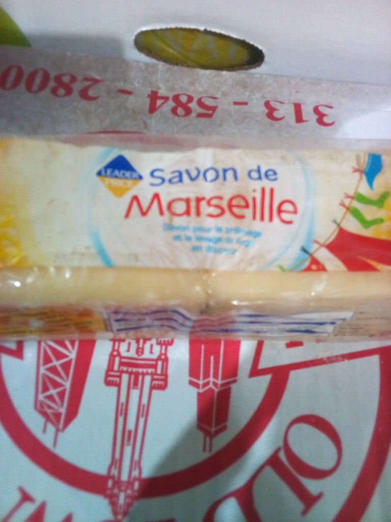 Leader Price Savon de Marseille 400g 2ct