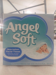 ANGEL SOFT NON LOTION FACIAL 18 PACK