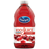 Ocean Spray 100% Cranberry Juice 2.84 L (96 oz., 1 pk.)
