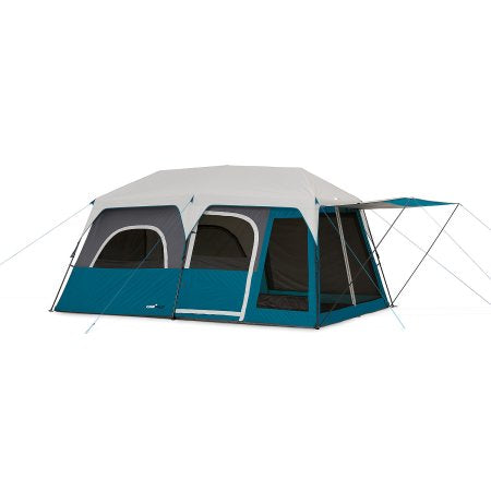 Campvalley 60 Second 10 Person Instant Set Up Family Camping Tent Dome Cabin
