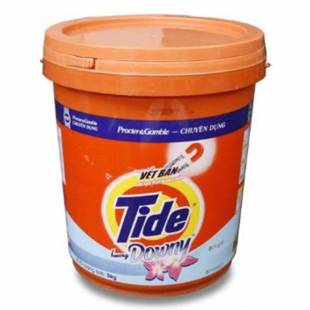 Tide Powder W/Downy Bucket 9Kg