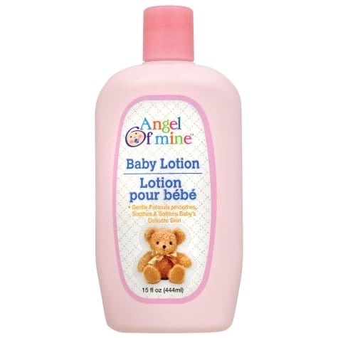 Angel of Mine Baby Lotion, 444mL