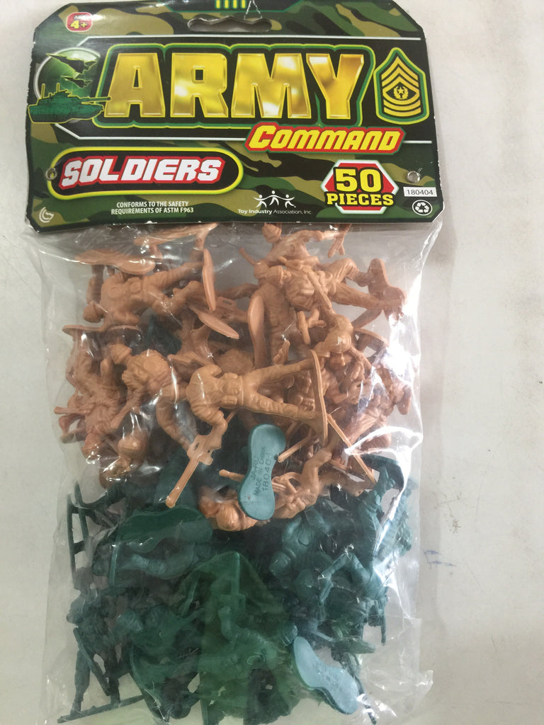 Army Rangers 50 pieces