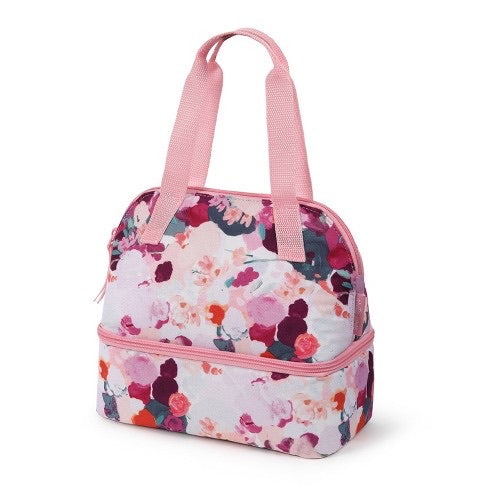 Arctic Zone Havana Dual Compartment Lunch Bag - Watercolor Floral