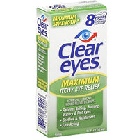 Clear Eyes Maximum  Itchy Eye Relief DLC:10/22