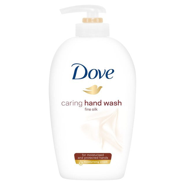 Dove Caring Hand Wash Fine Silk 250 mL