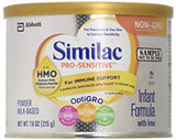 similac NON GMO pro sensitive 7.6 oz DLC: 01/DEC/20