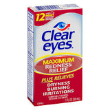 CLEAR EYES MAXIMUM REDNESS RELIEF 0.5 FL OZ/30mL MARS/22
