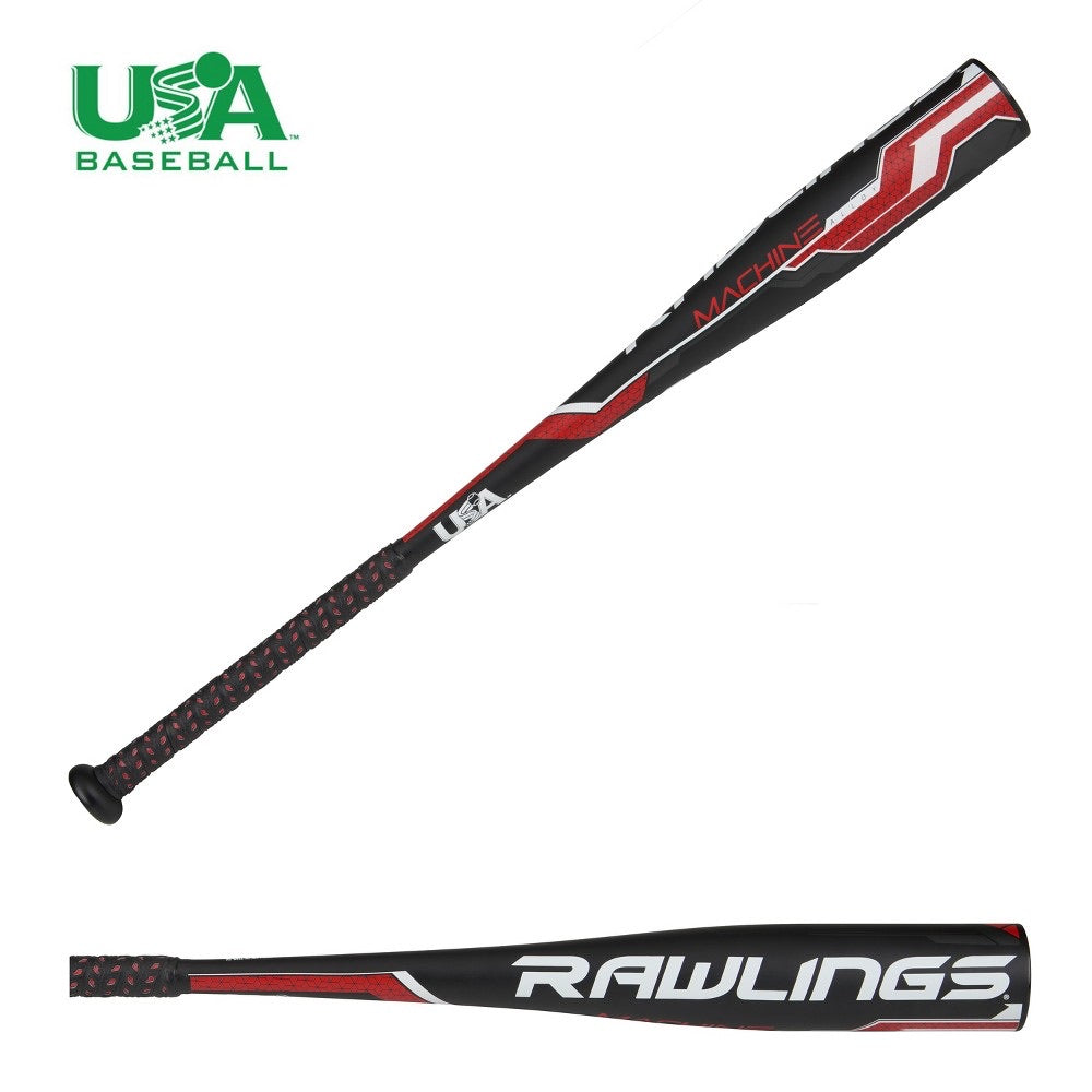 Rawlings Machine 30 Baseball Bat, Almost Black