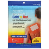 Assured Cold n Hot Pain Relief Medicated Patches, 2-ct. Packs