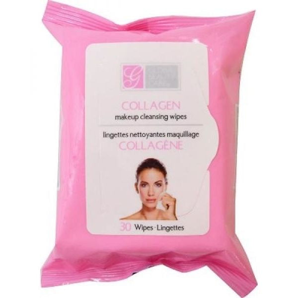 Global Beauty Care Collagen Cleansing Cloths Vitamin  30 ct