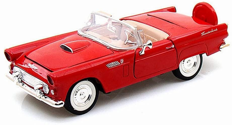 Motormax 1:43 Scale Die-cast 1956 Ford Thunderbird Convertible