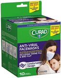 Curad Antiviral Face Mask 10S