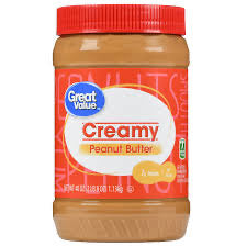 Great Value Creamy Peanut Butter, 40 oz DLC: 23/JUIN/20