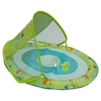 Baby Spring Float Sun Canopy - Green Octopus