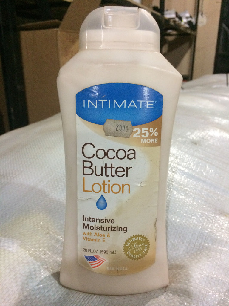 Intimate Cocoa Butter Lotion 20 Oz 590ml