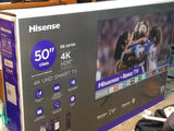 "Hisense 50"" 4K UHD LED Smart TV with HDR"