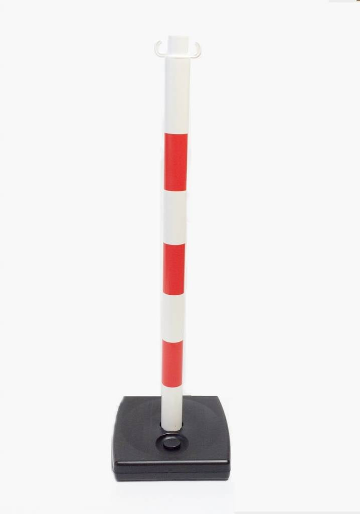 Warning Pole 90cm Weighted Base