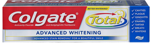 Colgate Total Advanced Whitening Toothpaste, 8 Oz (237 Ml)